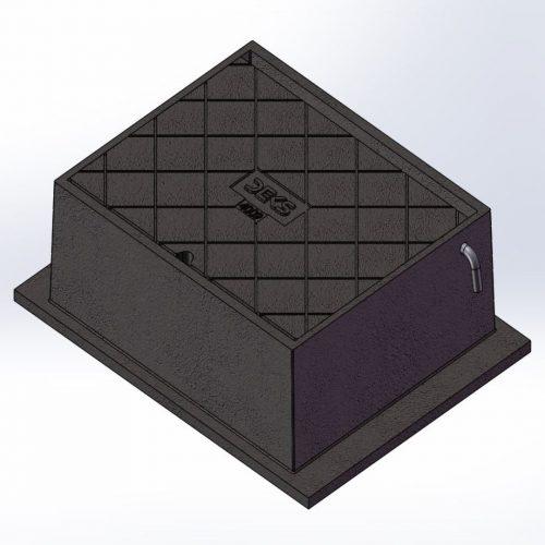Stop Valve Box 225 x 150