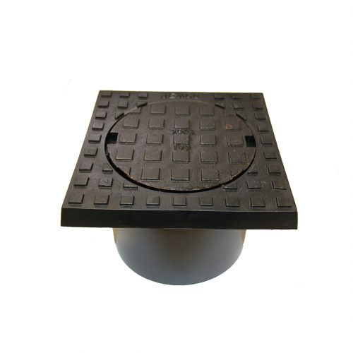 Inspection Cover 199 Light Duty to Suit DN100 Pipe