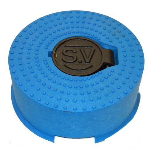 Sluice Valve Cover Blue Rnd (small)