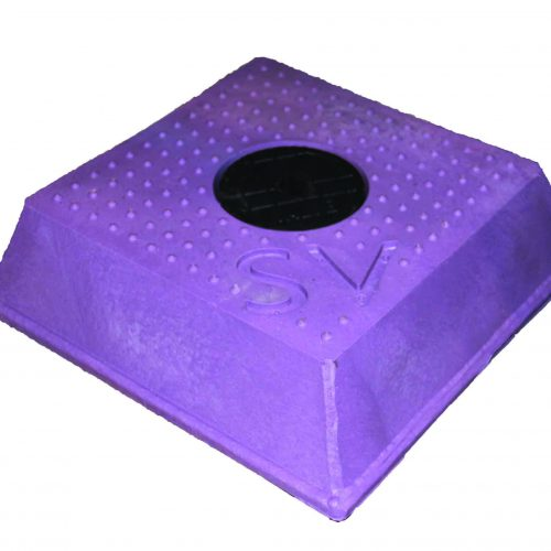Sluice Valve Cover Sq Lilac