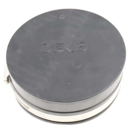Deks Joiner 100 PVC End Cap Blk ePVC