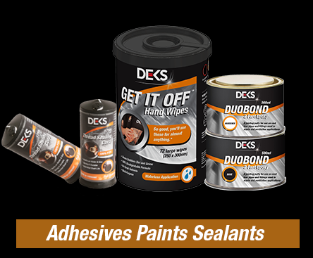 Adhesive, paints & sealants
