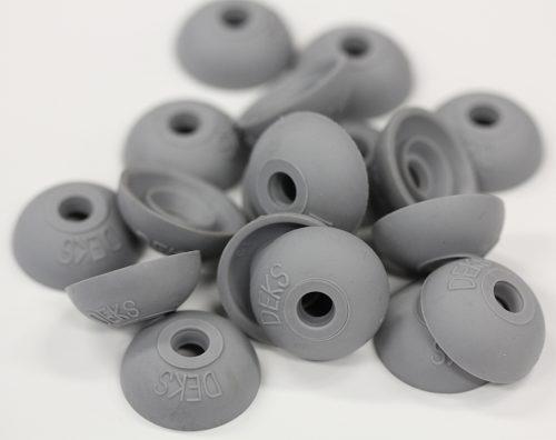 Polycarb roof washer suits fastener gauge #12 - Grey O.D 22mm
