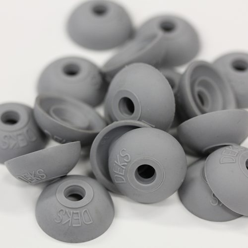 Polycarb roof washer suits fastener gauge #12 - Grey O.D 22mm