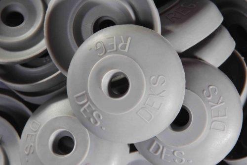 Polycarb roof washer suits fastener gauge #12 - Grey O.D 26mm