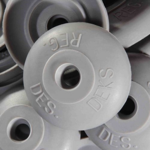 Polycarb roof washer suits fastener gauge #12 - Grey O.D 26mm