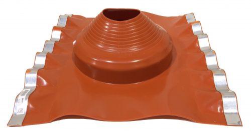 "Dektite Soaker #3 Red Sil (114-254mm/4.5-10"")"