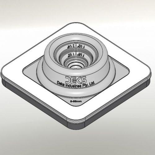 "Dektite Ezi Seal #1 Blk (5-55mm/0.25-2.25"")"