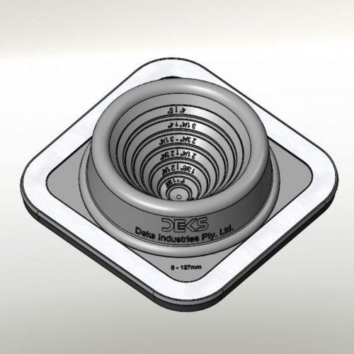 Dektite Ezi Seal #3 Blk (5-127mm/0.25-5'')