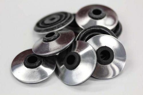 High performance metal roof washer suits fastener gauge #14 - Black O.D 32mm