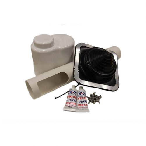 "Deks Top Hat Roof Kit 80mm (3.15"")"