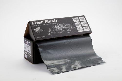 Fully adhesive flashing roll 5m x 370mm - Dark Grey