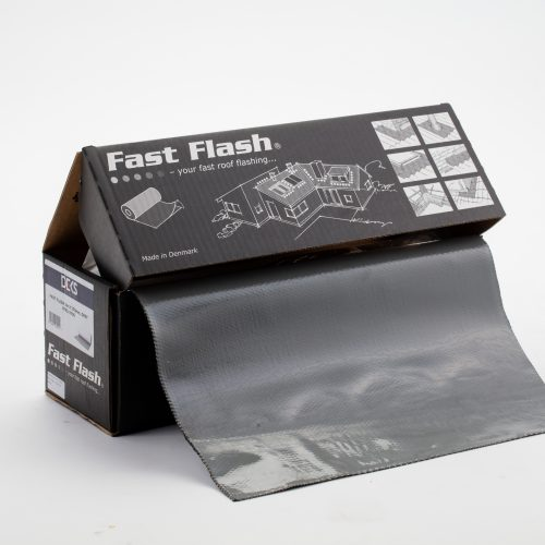 Fully adhesive flashing roll 5m x 370mm - Grey