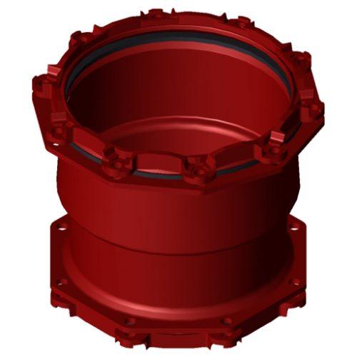 Waga MJ3107 Rdc Coup DN400 392-433mm x DN350 352-393mm EPDM
