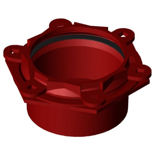 Waga MJ3207 Blind end-cap DN225 230-268mm EPDM A4