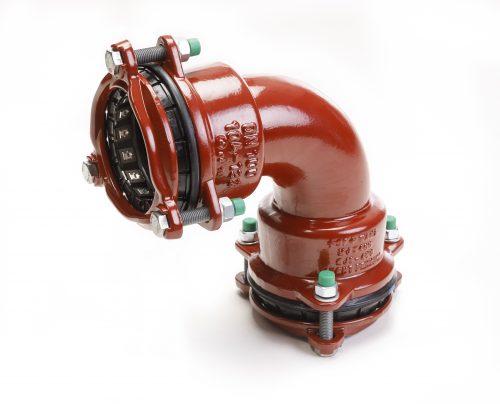 Waga MJ3407 Bend DN100 104-132mm EPDM A4