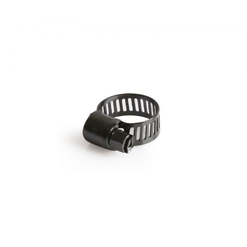 Hose Clamp 6-16Mm 316 SS Black Marine - 50pack
