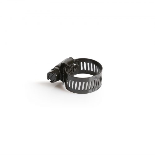 Hose Clamp 11-25Mm 316 SS Black Marine - 50pack
