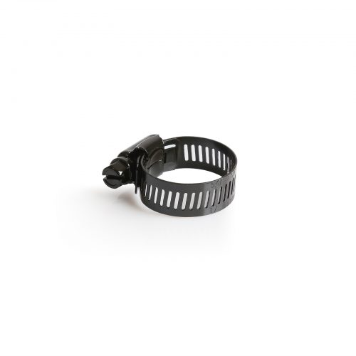 Hose Clamp 17-32Mm 316 SS Black Marine - 25pack