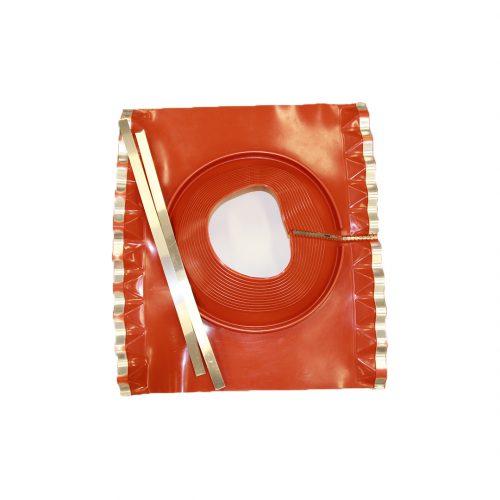 """Dektite Retrofit Soaker Red (235-425mm/9.25-16.75"""") SIL"""