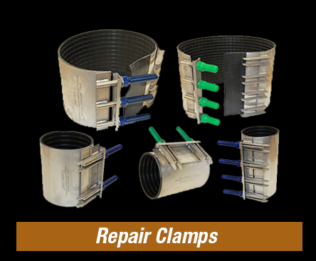 Repair Clamps Stainless Steel