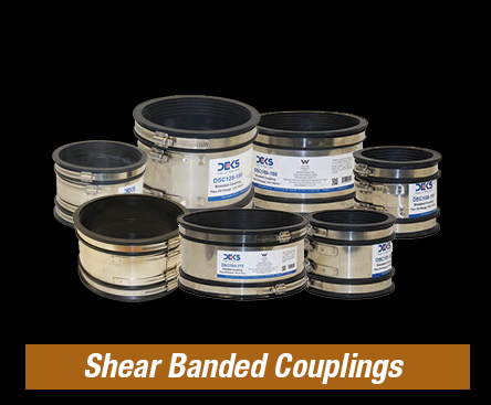 Shear Banded Couplings